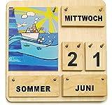 Kalender aus Holz