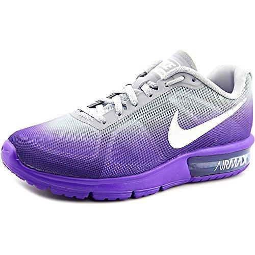 Lila Nike (Nike Air Max Sequent Laufschuh Fierce Lila / Wolf grau / lila / wei� Grö�e 7 M Us)