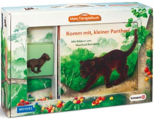 Preisvergleich Produktbild Schleich 70614 Mein Tierspielbuch - Komm mit, kleiner Panther