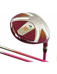 Japón Wazaki wl-iis Lady MX acero Fairway Madera USGA PGA Golf Club + cubierta de cuero, loft 18 degrees, Right