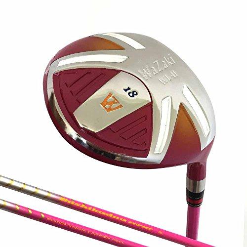 Japan Wazaki WL-IIs Golfschläger für Damen, Matrix-Stahl, Fairway-Holz, USGA/PGA, inkl. Lederschutz, unisex
