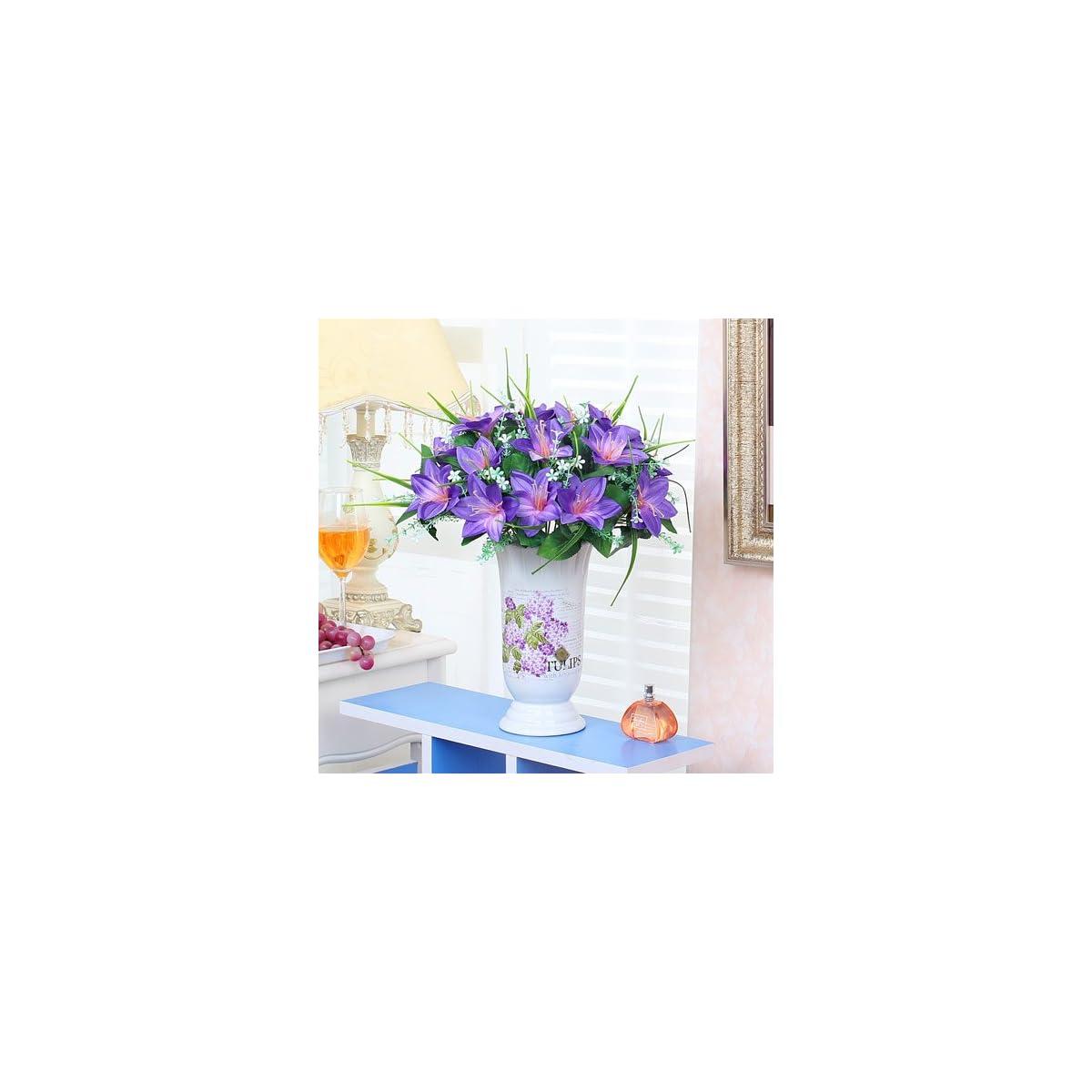 Xin Pang Salón De Flores Artificiales Decoración Floral Traje De Flores Jarrón High Grade Simulación Arreglo Floral Flor House Muebles Para El Hogar