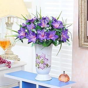 Xin Pang Salón De Flores Artificiales Decoración Floral Traje De Flores Jarrón High-Grade Simulación Arreglo Floral Flor…