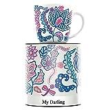 RITZENHOFF My Darling Kaffeebecher von Thorina Rose, aus Porzellan, 300 ml, mit trendigen Motiven