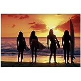 1art1 40874 Surfen - Surf Babes Poster (91 x 61 cm)