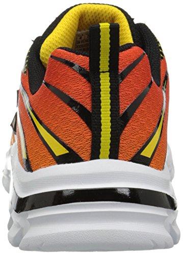 Skechers Nitrate Top Speed, Chaussures de sport petit enfant orange/noir
