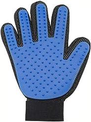 Mumoo Bear Pet Grooming Glove Gentle Deshedding Brush Gloves Massage Tool for Dog Cat