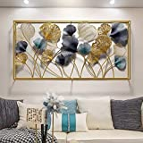 AJ Decor Metal Wall Art Iron Wall Hanging Home Decoration Perfect for Living Room/Hotel/Restaurant/Bedroom/Drawing Room (Colo