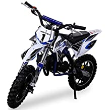 HMParts Mini Cross Dirt Bike  Pocket Cross Kettenschutz blau
