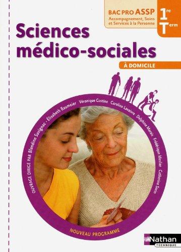 Sciences médico-sociales - 1re et Term Bac Pro ASSP