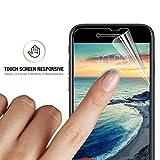 Protection écran iPhone 8, Orzly - 5x Films de Protection Haute Qualité pour Apple iPhone 8 / 7 - 100% Transparent Virtuellement Invisible