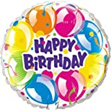PIONEER BALLOON COMPANY B-Day Sparkling Balloons Pack, 18 by PIONEER BALLOON COMPANY