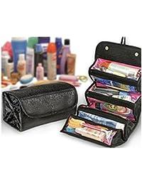 Mannan Enterprises - Black Roll N Go Travel Buddy Toiletry Bag