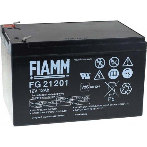 Preisvergleich Produktbild Fiamm FG21202 Blei Gel Akku 12V, 12Ah