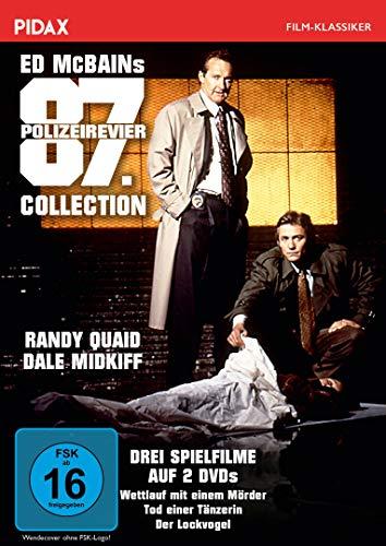 Ed McBains 87. Polizeirevier Collection / Drei spannende Romanverfilmungen (Wettlauf mit einem Mörder + Tod einer Tänzerin + Der Lockvogel) (Pidax Film-Klassiker) [2 DVDs]