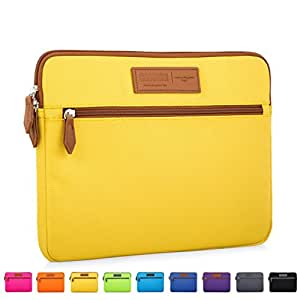 CAISON 15 6 Laptop Case Sleeve 15 6 Lenovo IdeaPad 330 320/15 6 Acer Aspire  (15 6in)(Yellow)