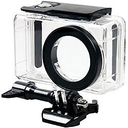 flycoo funda coberta impermeable per Xiaomi mijia 4 K Mini càmera d'acció clar amb cargol de fixació i Base