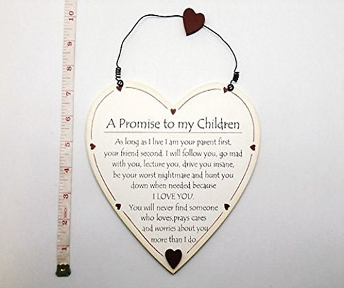 cream-heart-plaque-a-promise-to-my-children-f1198