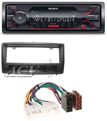 Sony DSX-A410BT USB AUX MP3 Bluetooth Autoradio für Toyota Corolla E12 (2003-2008) (2005 Toyota Corolla Radio)