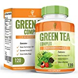 Green Tea Extract for Dieting and Slimming, 1000mg Green Tea Capsules, You Get 15% More EGCG than Other Brands, Maximum Strength Supplement for Fast Weight Loss, Powerful Antioxidant - 120 Capsules from Earths Design