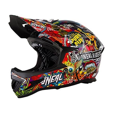 ONeal Warp Fidlock - Casque intégral - Crank Multicolore Tour de tête 55-56 cm 2018 casque downhill
