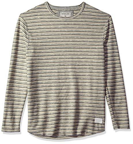 Quiksilver Herren Harajuku Split T-Shirt, MGH Striped Towel, Groß -