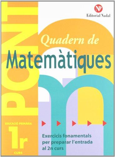Pont Matemàtiques 1r primària por Pàmies Tomàs Lina Màrquez Caro Carles