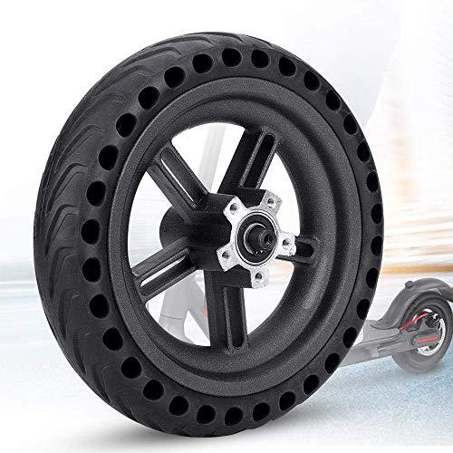 TiooDre Neumático eléctrico de la Vespa, neumático neumático de la Vespa con el neumático sólido del Eje del reemplazo para la Favorable Vespa eléctrica de Xiaomi M365