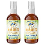 Aromakrafts Natural Mosquito Repellent Room Spray with Essential Oils - Lavender, Eucalyptus, Lemongrass