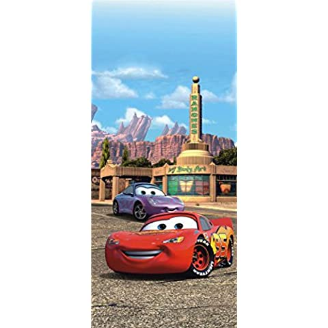 Cars - Lightning McQueen And Sally Carrera Póster Fotomural (202 x 90cm)