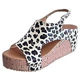 Toasye Mode Damen Open Toe Atmungsaktive Einfarbige Wedges Schuhe Sommer Strand Sandalen Rom Beiläufig Schuhe