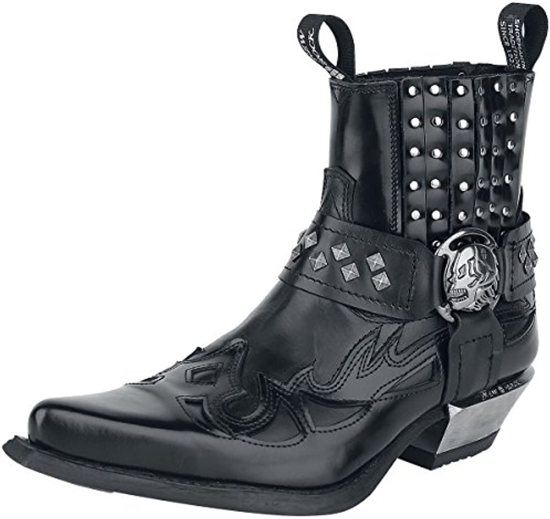 New Rock Antik Botas Negro  Zapatos de moda en línea Obtenga el mejor descuento de venta caliente-Descuento más grande