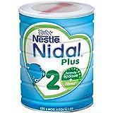 Nestlé Nidal Plus 2 Lait Infantile 2ème Âge en Poudre - de 6 à 12 Mois - 800g - Lot de 3