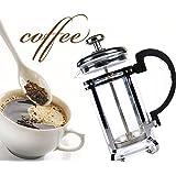 Calli 350ml francés cafetera cafetera de émbolo olla cafetera de acero inoxidable olla de té de café manual