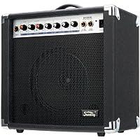 Soundking AK20-GR - Amplificador bajo eléctrico, 2 canales, 60 W