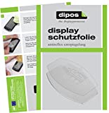 dipos I 6X Schutzfolie matt passend für DeLonghi Perfecta Esam 5500 Tropfblech Folie Displayschutzfolie