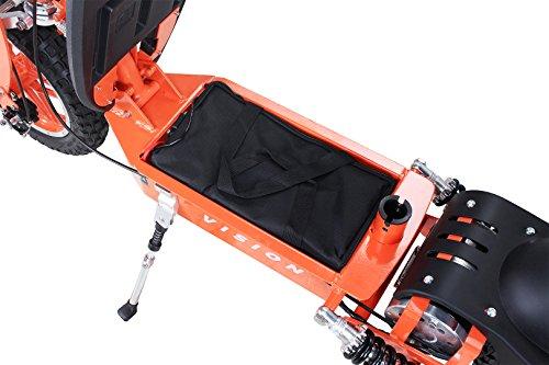 E-Scooter Roller Original E-Flux Vision mit 1000 Watt 36 V Motor Elektroroller E-Roller E-Scooter in vielen Farbe (orange) - 5