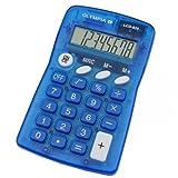 Olympia Taschenrechner LCD 825, blau
