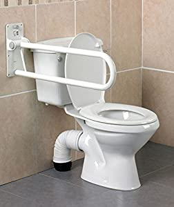 "Homecraft Devon MKII Folding Toilet Support Rail (21.5"" or 30"")"