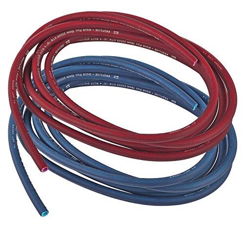 Preisvergleich Produktbild 10 Meter Trinkwasserschlauch Set Rot & Blau 10 x 2, 5 mm Kalt & Warmwasser für Wohnmobil & Wohnwagen