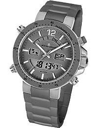 Jacques Lemans Unisex-Armbanduhr Milano Analog - Digital Silikon 1-1712U