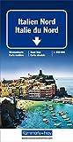 Italien Nord Strassenkarte: Massstab 1:650 000 (Kümmerly+Frey Strassenkarten) -