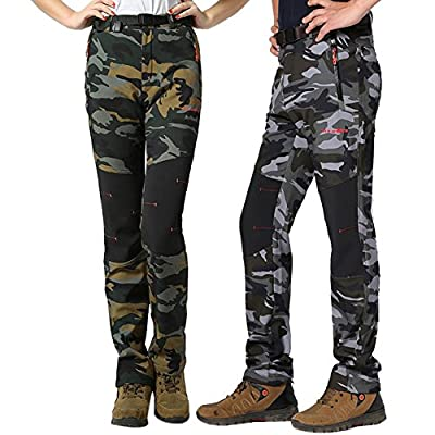 iisport® Outdoorhose Softshell Hose Camouflage wasserabweisend atmungsaktiv straight fit herren&damen von iisport - Outdoor Shop