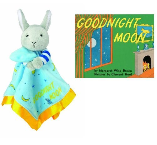 Goodnight Moon Bunny Blankie & Beloved Board Book, Baby Gift Set by Goodnight Moon