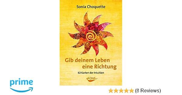 Koha Verlag Karte Ziehen.Gib Deinem Leben Eine Richtung Karten Der Intuition Amazon De