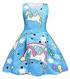 Best Regalo di compleanno per 6 anni ragazzi - AmzBarley Unicorno Festa Vestito da principessa Stellato Abiti Review