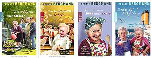 Renate Bergmann Band 5-8 der Online Omi 5. Wer erbt muss auch gießen & 6. Wir brauchen viel mehr Schafe & 7. Das kann Man doch noch Essen & 8. Besser als Bus Fahren
