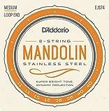 D\'Addario EJS74 Cordes pour Mandoline
