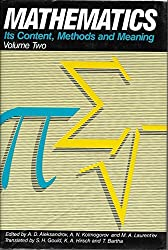 Mathematics: Its Content, Methods and Meaning, Vol. 2 by A D Aleksandrov (1990-01-01)