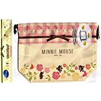 * Disney * Minnie Mouse Mittagessen Tasche [Mittagessen Geldbeutel] Rose & amp; uberprufen Band Muster preisvergleich bei kinderzimmerdekopreise.eu